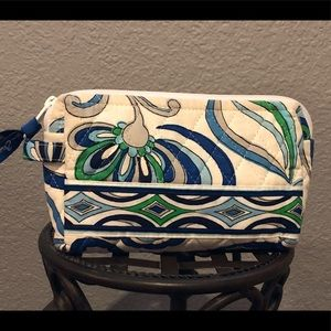 Vera Bradley Small Zip Cosmetic Pouch